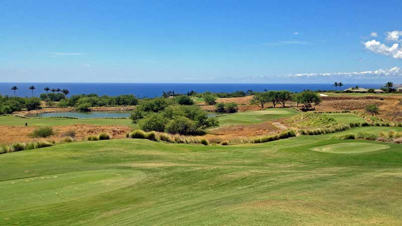 Hapuna Golf Course holes 3 and 4