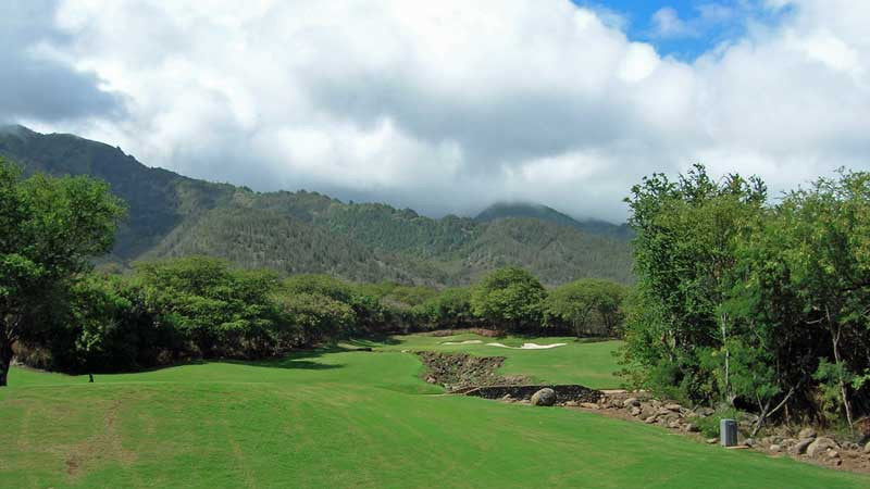 Kahili 6th hole