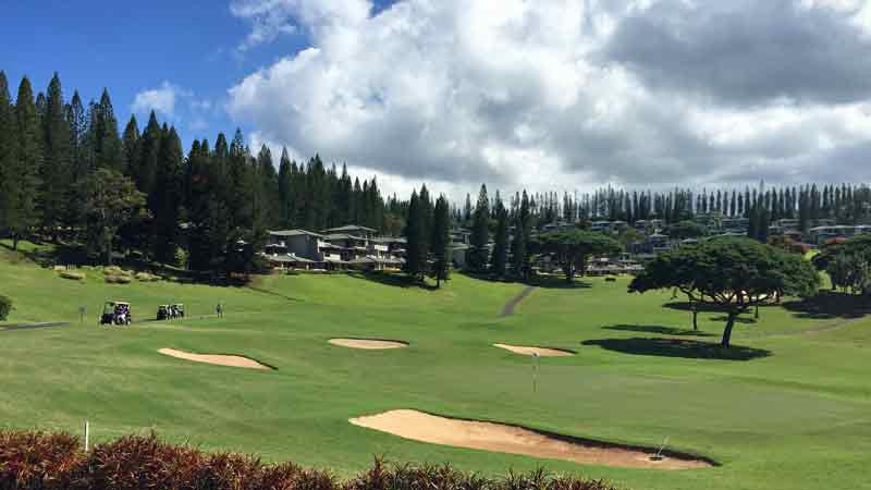 Kapalua Bay 10 and 18th holes Hawaii Tee Times