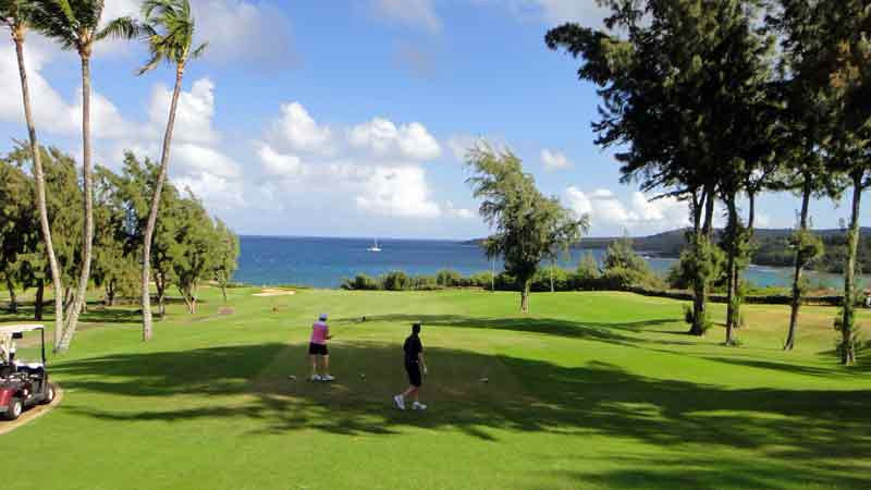 Kapalua Bay 4th Tee Box Maui Hawaii