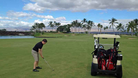 Another great day playing Waikoloa Kings in Hawaii