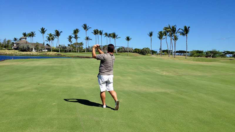Waikoloa Kings 16th Hole