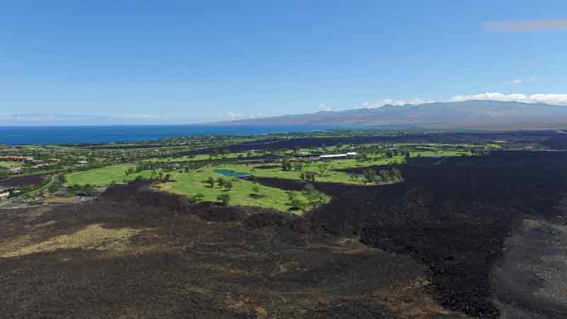 Waikoloa Kings Back Nine From Lava Field