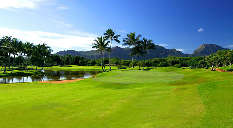 Kauai Lagoons Golf Club green