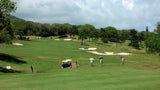 Kahili Golf Course teeing up on hole 1