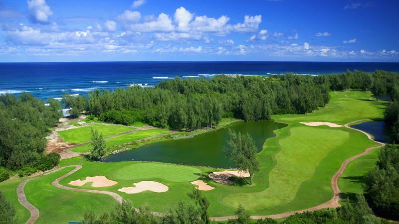 Turtle Bay Resort Palmer Aerial View