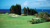 Kapalua Plantation approach to hole #1