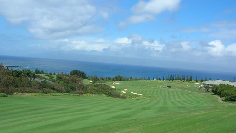 Kapalua Plantation 18th Fairway