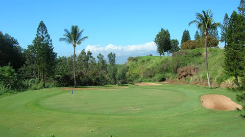 Pukalani Country Club 3rd Green