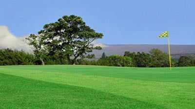Volcano Golf & Country Club Green