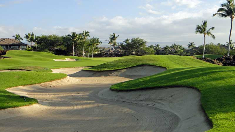 Big Bunkers at Mauna Lani North in Hawaii