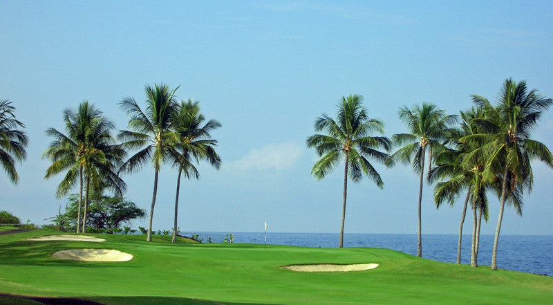 Kona Country Club Ocean lay up