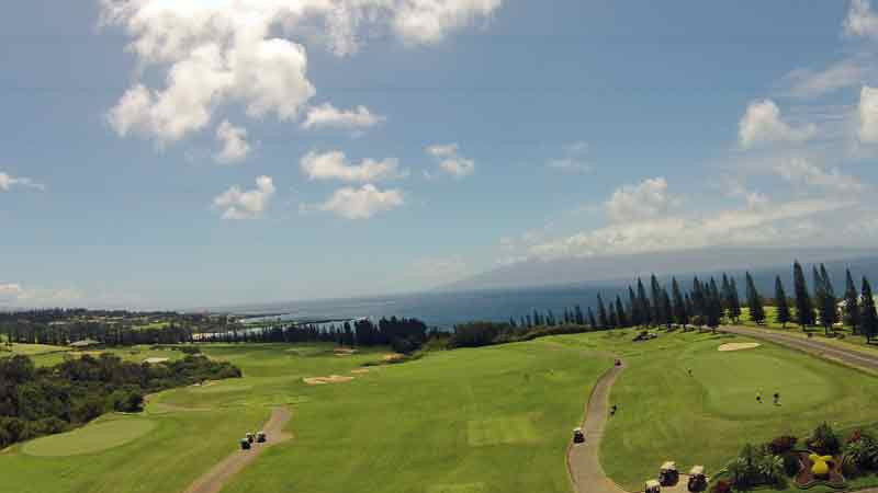 First Tee at kapalua Plantation Golf Course Maui
