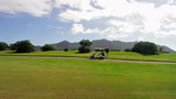Puakea Golf Course getting ready to hit