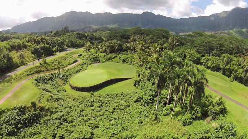 Signature hole at Royal Hawaiian Golf Club Hawaii TeeTimes