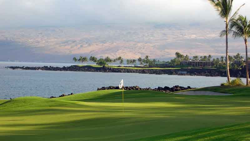 Another beautiful view of Mauna Lani South Golf Course Hawaii