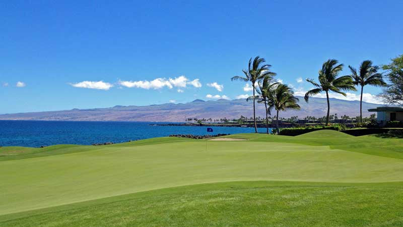 Mauna Lani South 7th green