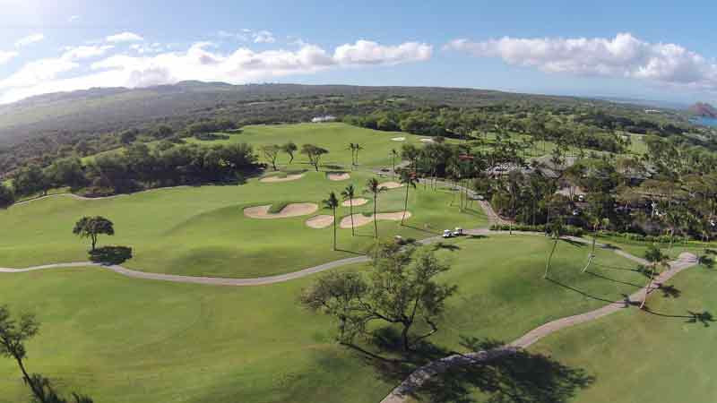 Panoramic Views including clubhouse with Drone