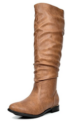 Leggings Outfit - Camel Riding Boots | VAHL