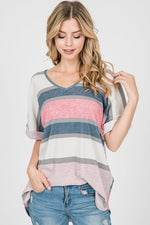 Striped Thermo Top : Pre-Order