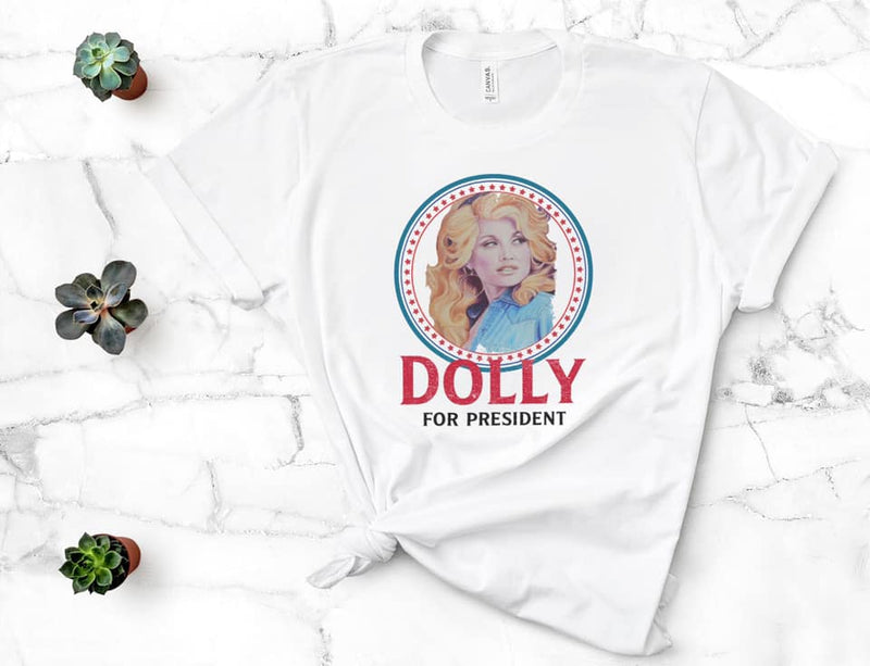 Dolly For President Sublimation Transfer | VAHL