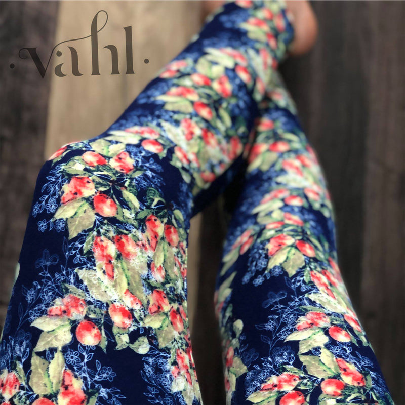 Plus Floral Legging : Brandi
