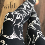 Plus Elephant Print Leggings -Stephanie