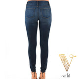 Judy Blue Plus Skinny Dark Denim | VAHL