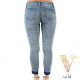 Plus Judy Blue Relaxed Fit Cropped Denim : Size 1XL | VAHL