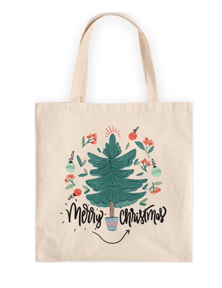 Merry Tree Sublimation Transfer