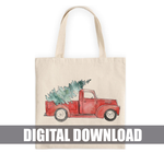 Christmas Truck Digital Download