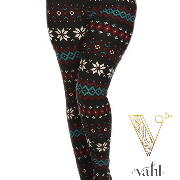 Misses Snowflake Leggings : Lynn | VAHL