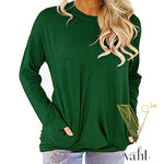Madison's Fall Favorite Pocket Sweater | VAHL | VAHL