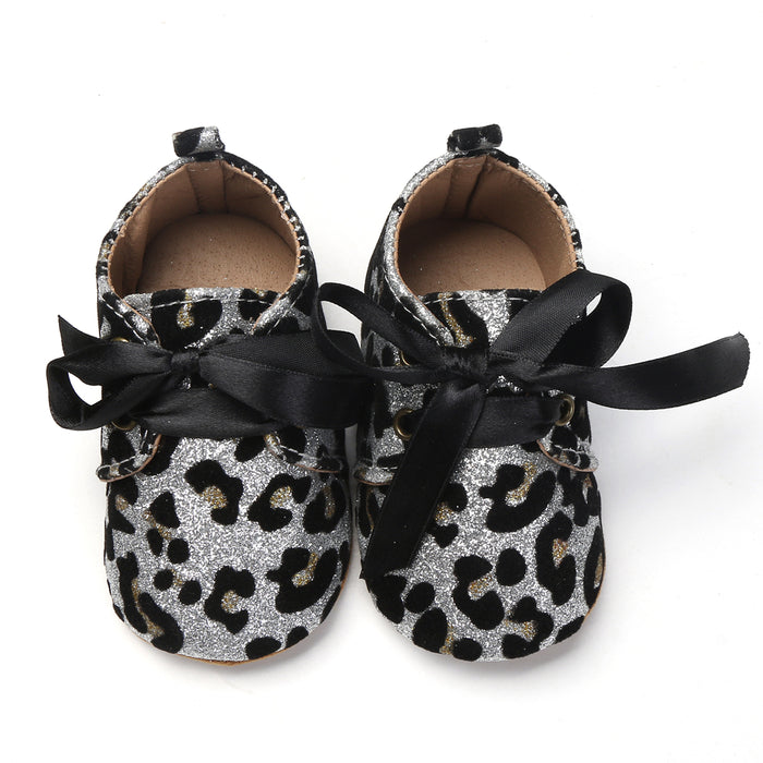 Glitter Baby Girl Crib Shoes | VAHL