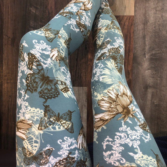 Plus Print Legging- Pandora