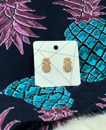 Vintage Pineapple Earrings