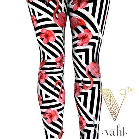 Misses Flamingo Leggings : Patricia | VAHL