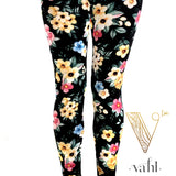 Misses Floral Leggings: Taylor | VAHL