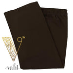 Misses Solid Brown Leggings | VAHL