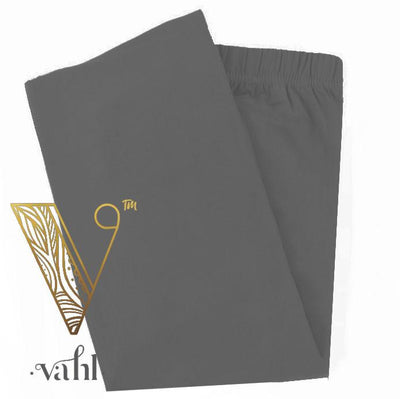 Misses Solid Grey Leggings Charcoal | VAHL