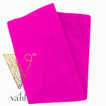 Misses Solid Pink Leggings - Yoga Band : Neon Pink | VAHL