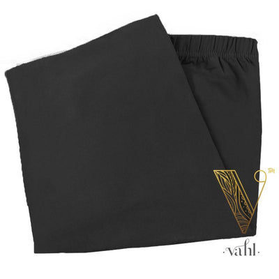 Misses Solid Black Leggings | VAHL