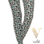 Plus Geometric Legging -  Fair & Square