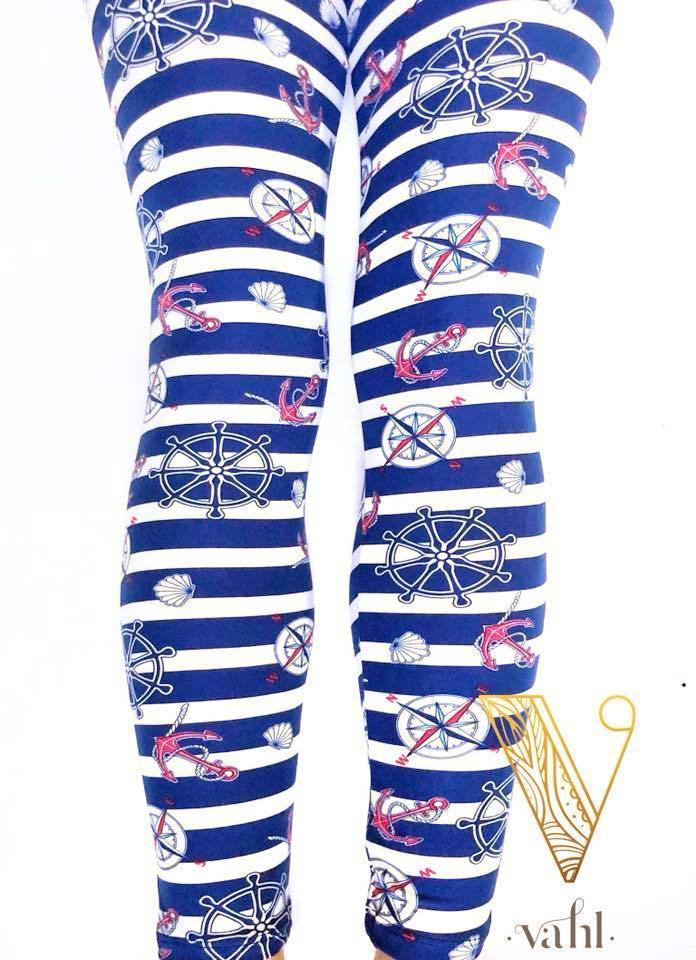 nautical leggings