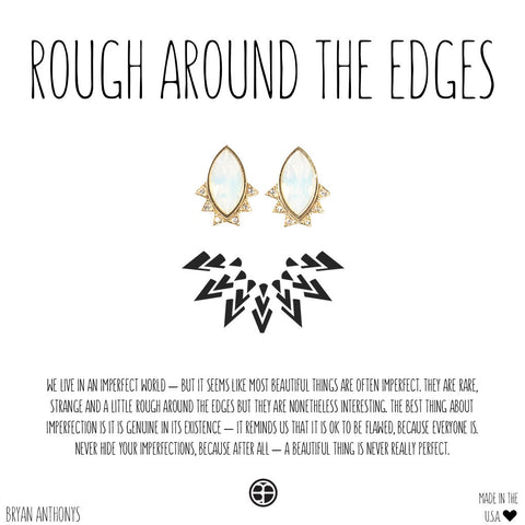 Rough Around the Edges Earrings | Bryan Anthonys - Vahl