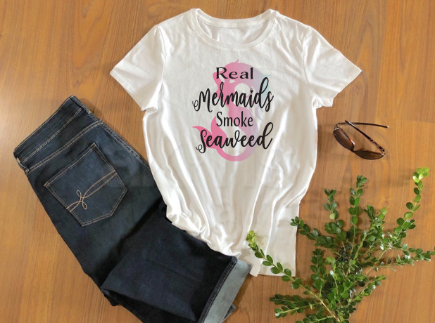 Real Mermaids Sublimation Transfer