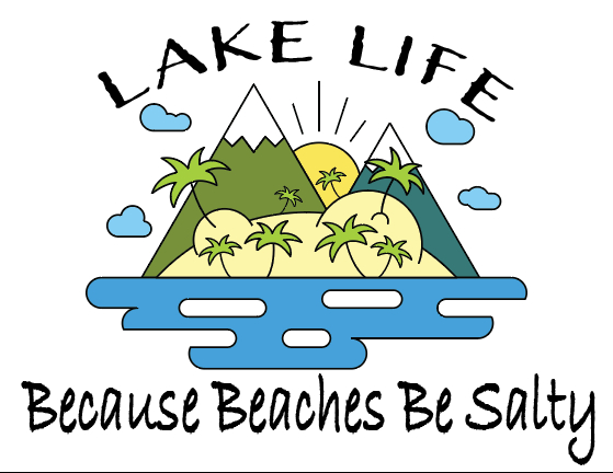 Lake Life Sublimation Transfer