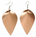 Leather Teardrop Earrings | VAHL | VAHL