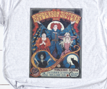 FREE SHIPPING | Hocus Pocus Graphic Tee Boutique Sanderson Sisters Tee T-Shirt Adorable!
