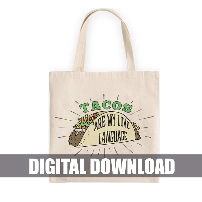 Taco Love Digital Download